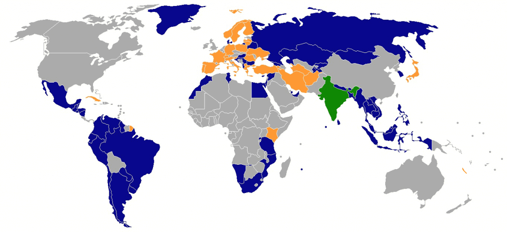 Eligible country